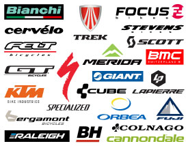 Bike brands with model lists
