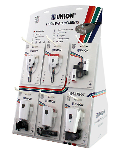 New USB Li-ion lights